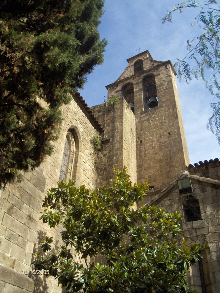 Espadaña iglesia Santa Anna