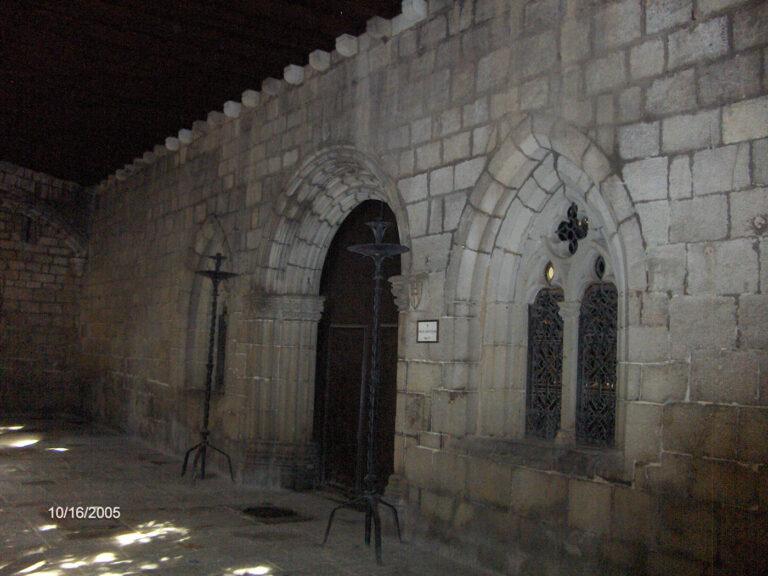 Exterior sala capitular iglesia Santa Anna