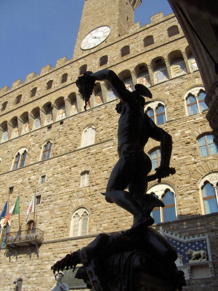 Plaza Señoría Florencia. Hogueras de las vanidades Savonarola